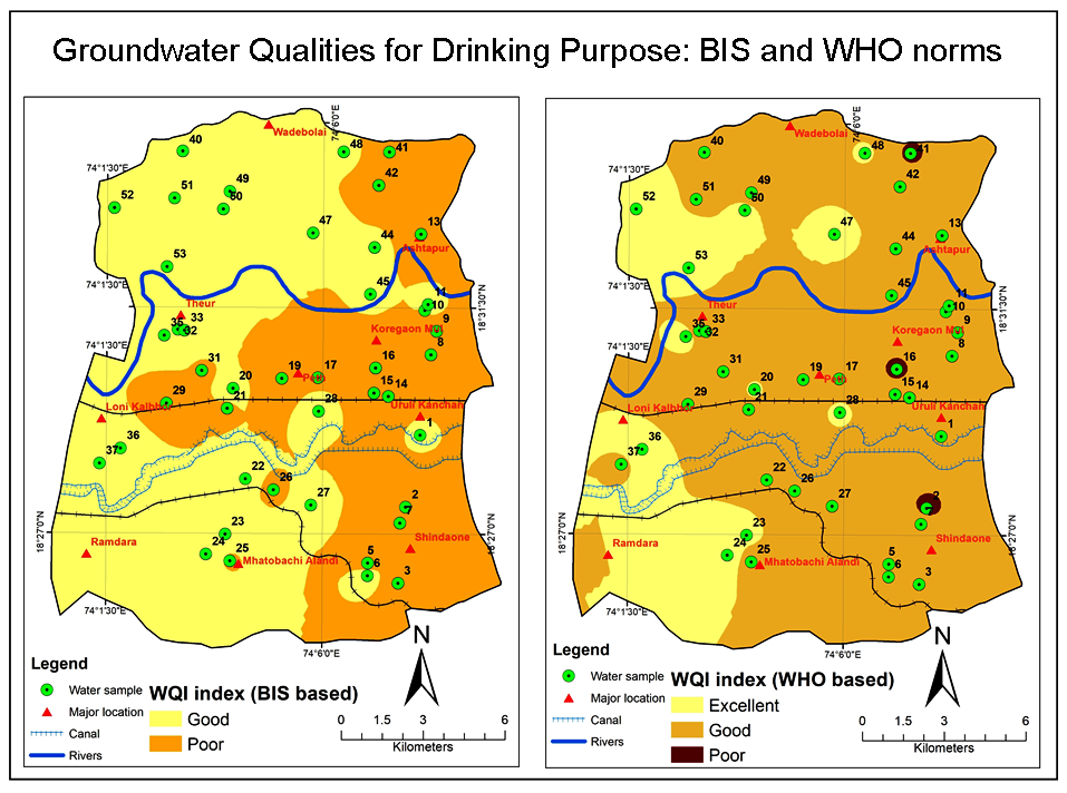 Suitability Assessment of Groundwater Quality for Drinking Purpose by Physicochemical Characterization and Water Quality Index from Haveli Region India